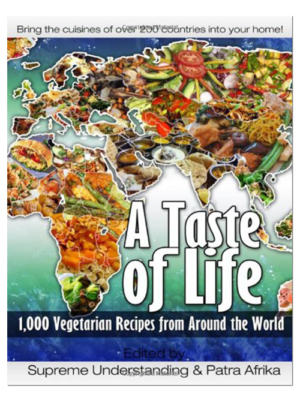 A Taste of Life Vegetarian Recipe Book